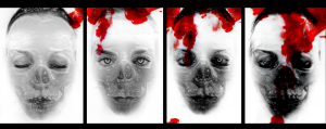On a darker note, my GCSE Photography final piece, named 'Dreams turning into Nightmares'.