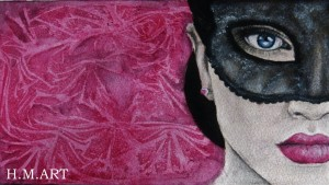 Masquerade. One of my favourites that I painted due to my love for Phantom of the Opera